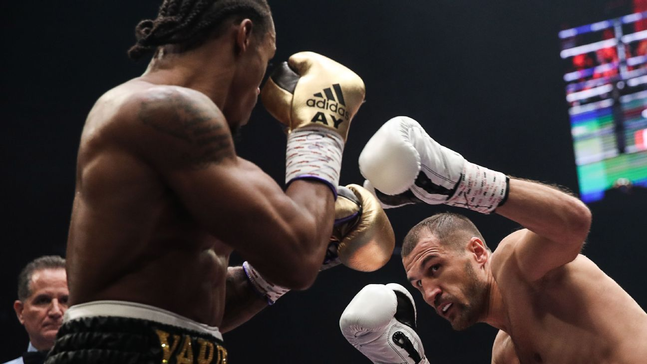 Kovalev keeps title with 11th-round KO of Yarde