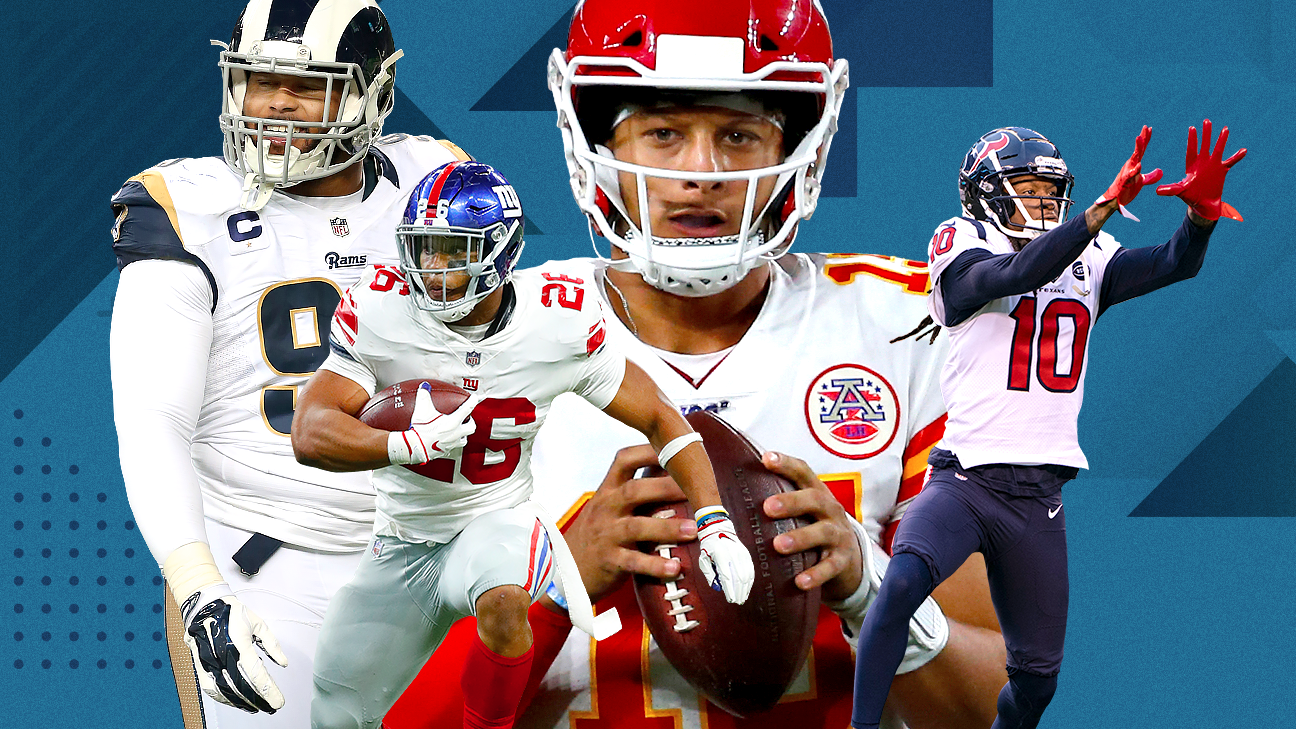 2019 NFLRank: Predicting the best 100 players for this season