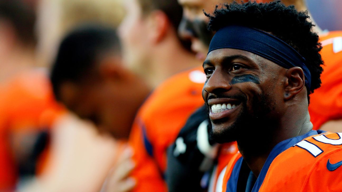 New 49ers receiver Emmanuel Sanders says he 'needed a change of scenery'