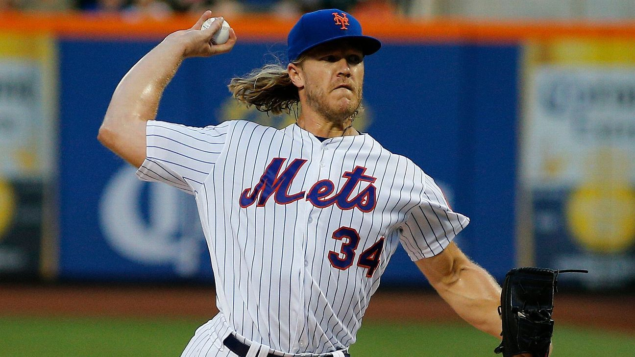 New York Mets' Noah Syndergaard reportedly tests positive for COVID-19, scratched from rehab outing