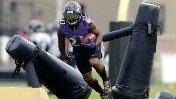 Decline At 29 Mark Ingram Set To Deliver His Rebuttal For Ravens Baltimore Ravens Blog Espn