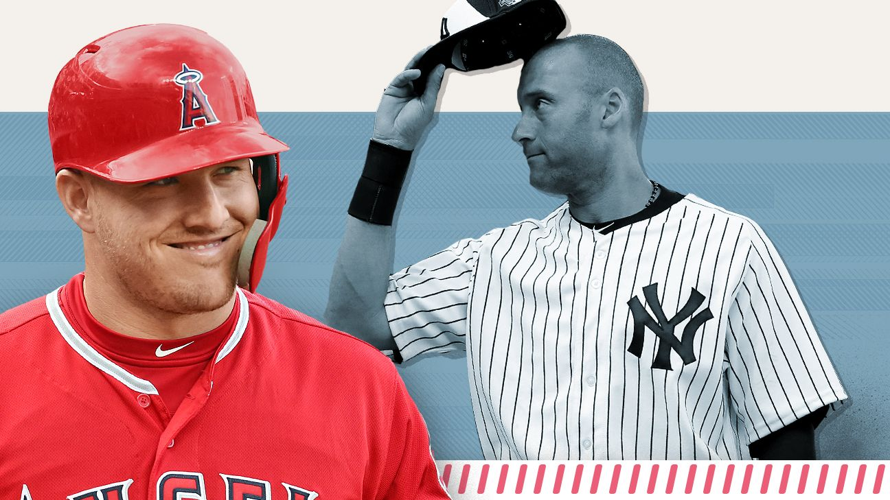 Mike Trout tracker, Derek Jeter edition: He's now better than The Captain