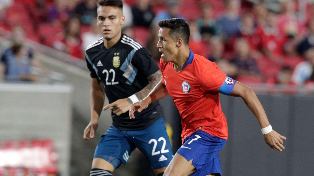 """Lautaro elogió de Alexis: """"Es un jugador importante"""" - ESPN"""