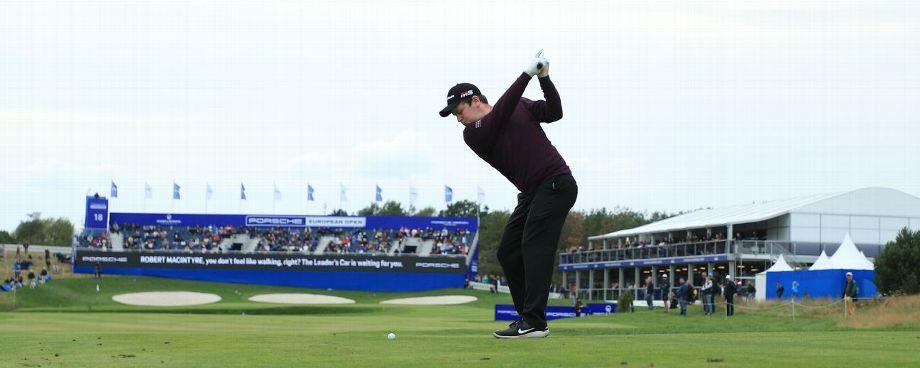 MacIntyre takes halfway lead at European Open