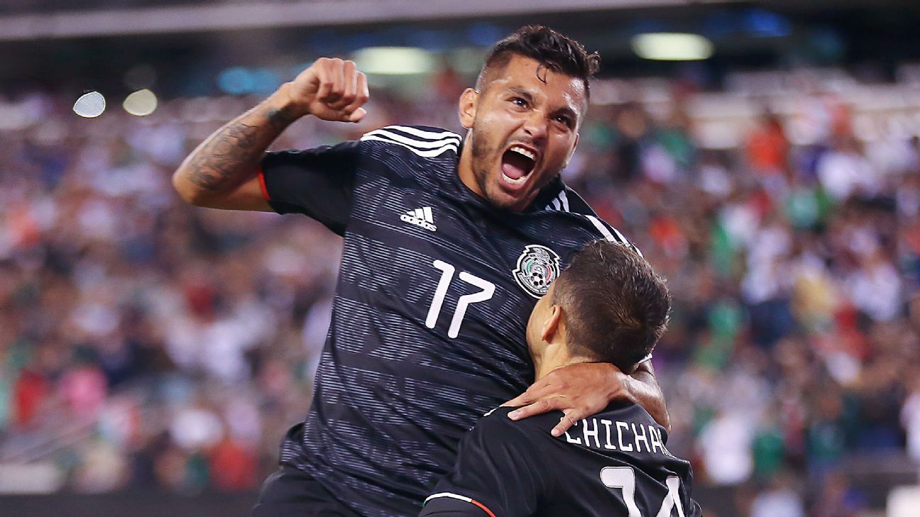 Mexico ratings vs  USMNT: 'Chicharito', 'Tecatito', Herrera