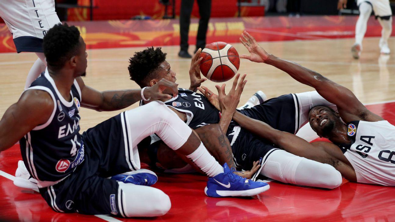 Team USA upset with Antetokounmpos after foul