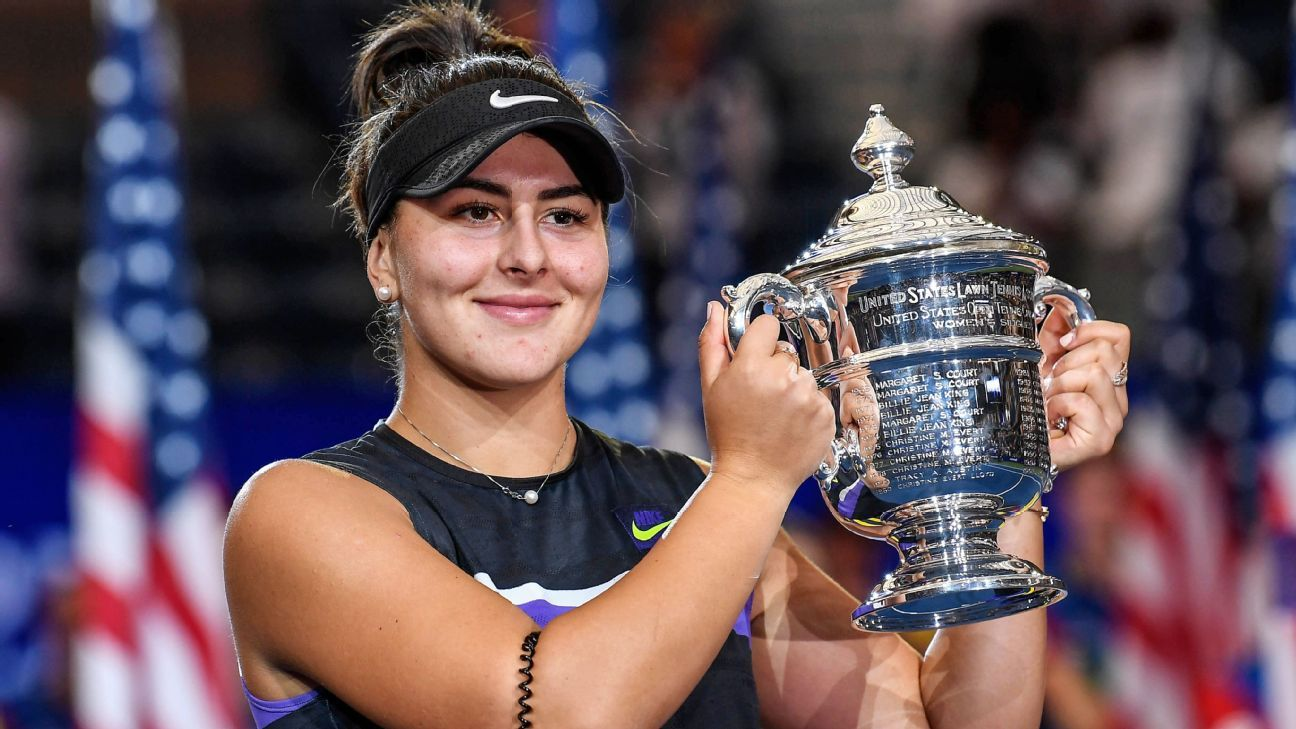Rafael Nadal, Bianca Andreescu and the best tennis in 2019
