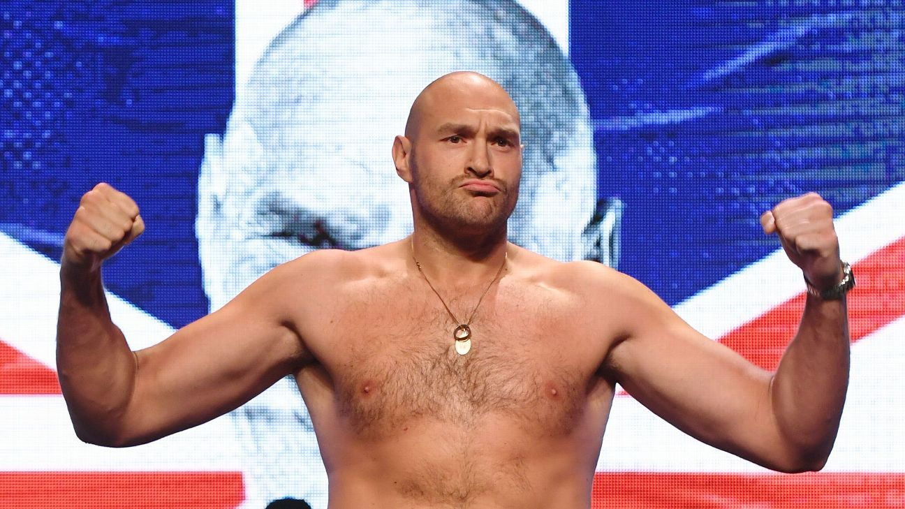 Tyson Fury vs. Otto Wallin on ESPN+: How to watch