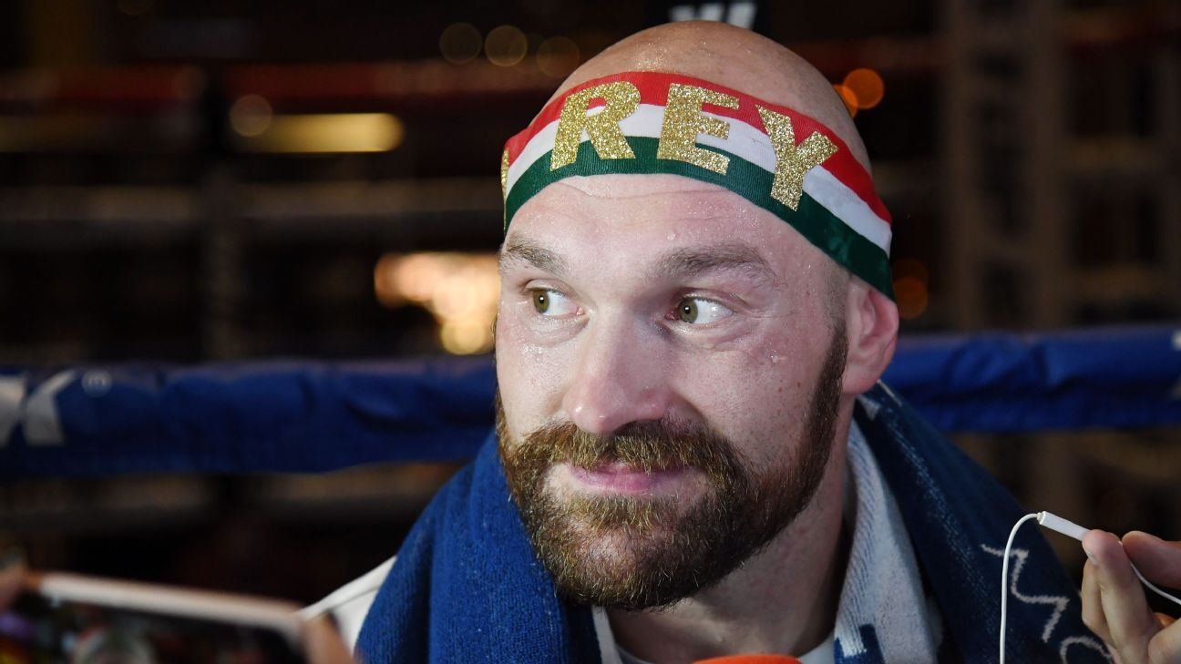 Confident Fury not worried about facing Wallin