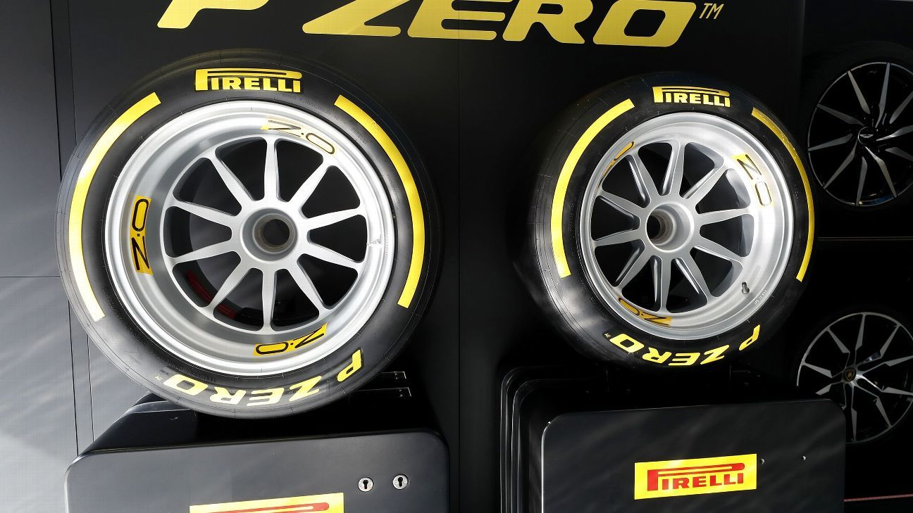 2021: First low-profile tyre test offers glimpse of F1's future