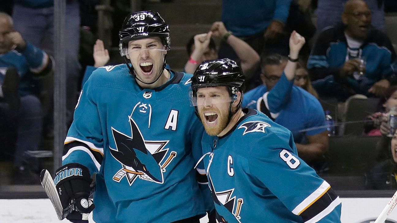 Sharks look to keep swimming without Pavelski