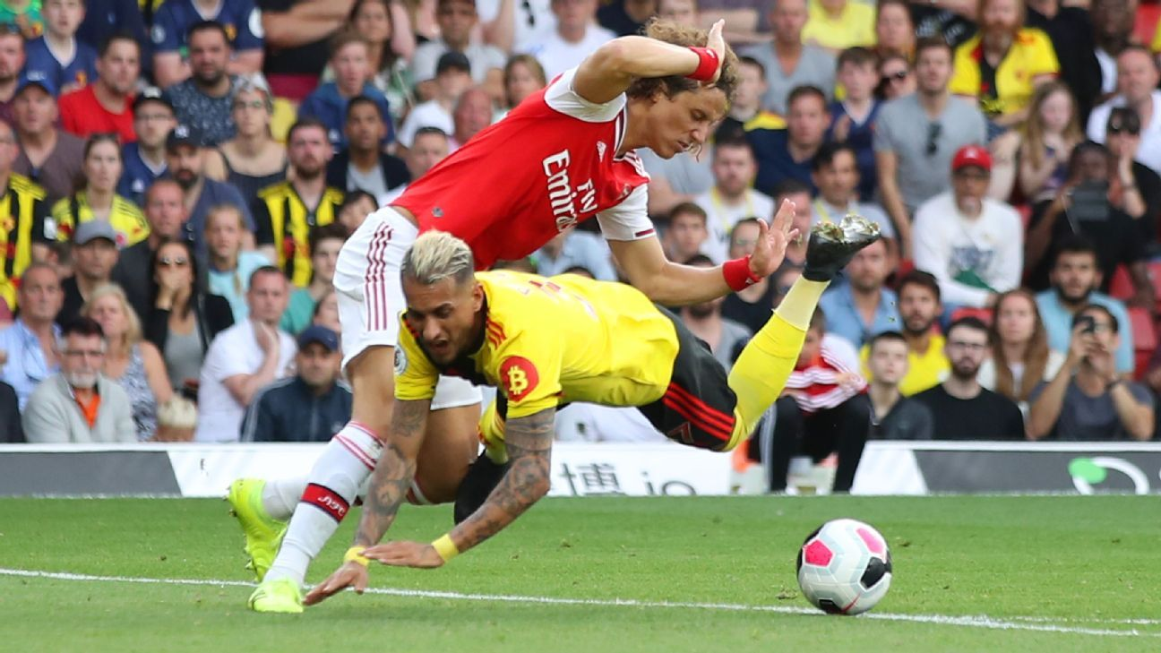 Arsenal slump to draw at Watford thanks to 5/10 David Luiz, Matteo Guendouzi