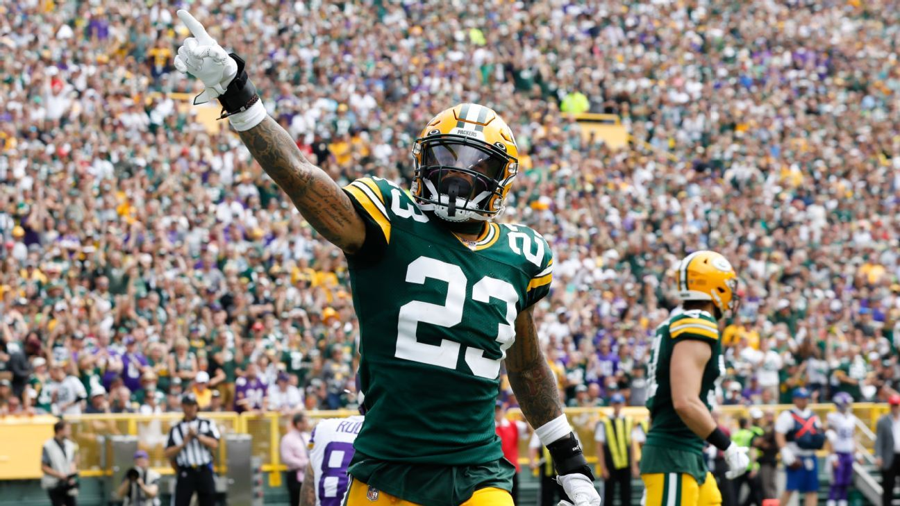 Jaire Alexander, Kevin King talk (and play) a good game for Packers' D