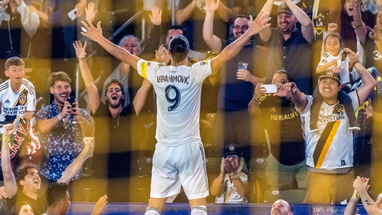 MLS Power Rankings: LAFC stumble again, Zlatan on fire as chaos reigns in the wild Western Conference