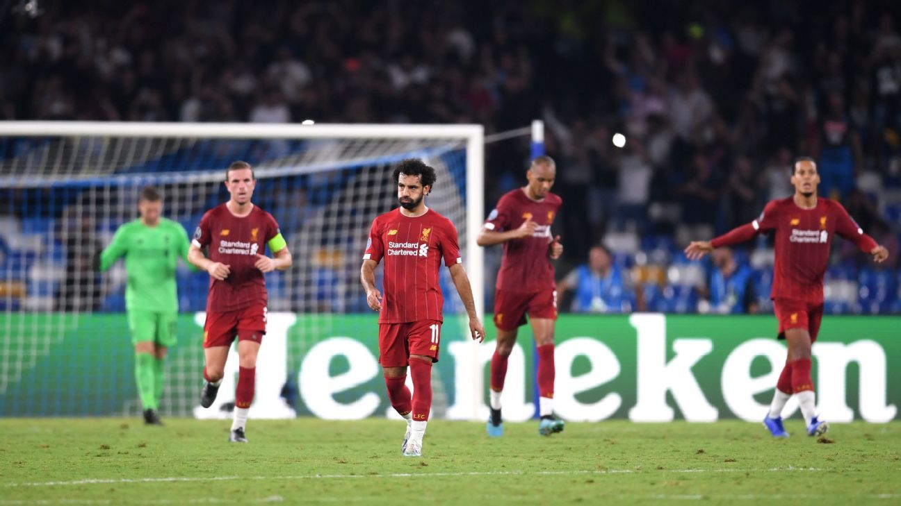 Liverpool won't dwell on surprising defeat at Napoli. After all, there's plenty of time to put it right