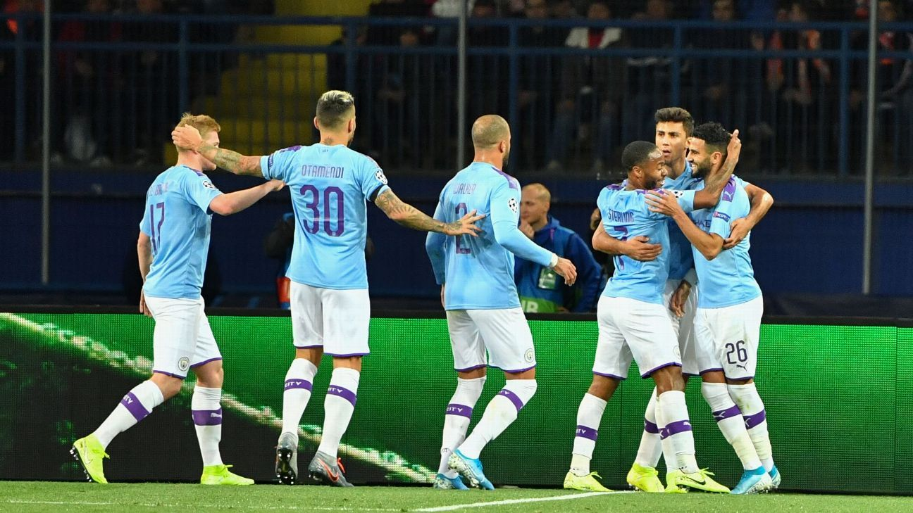 City put aside league slip with win at Shakhtar