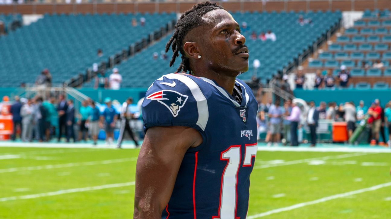 Brown out: Pats cut WR amid off-field allegations