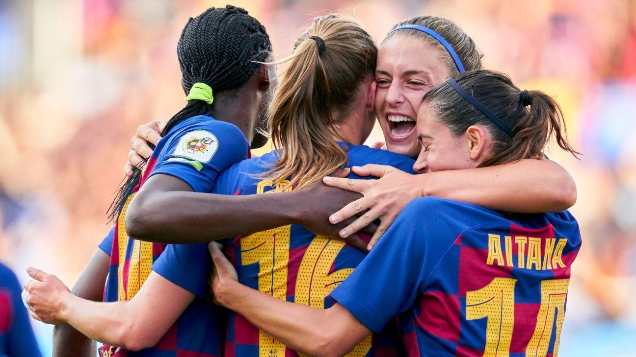 Barca Women thrash Atleti in Spanish Clasico