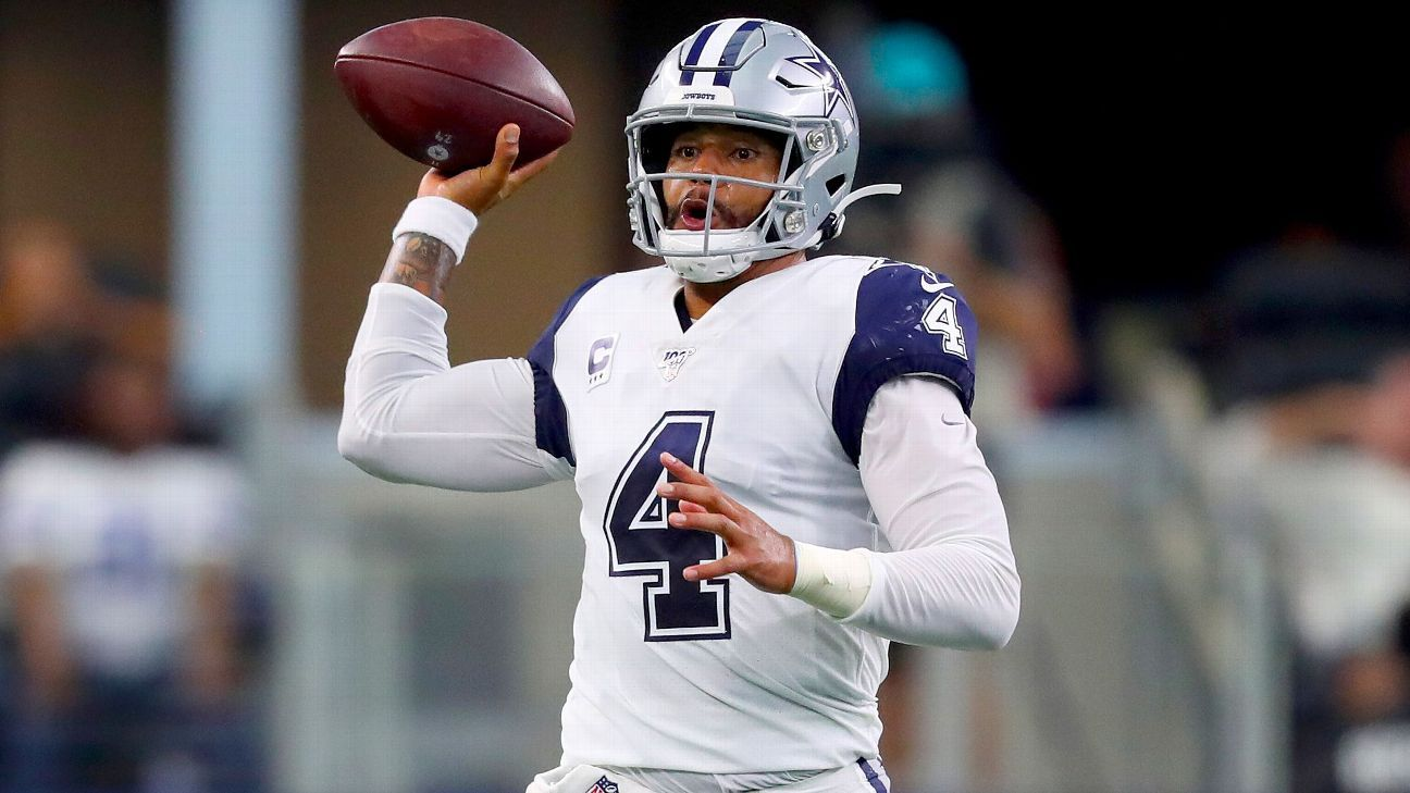 Dak Prescott guides unbeaten Cowboys to win, but challenges await