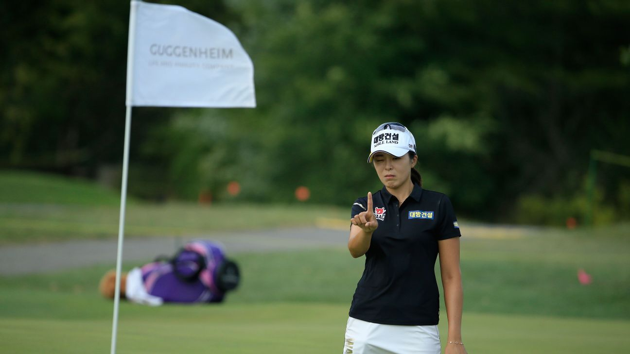 Mi Jung Hur takes 2-shot lead at Indy Women in Tech Championship