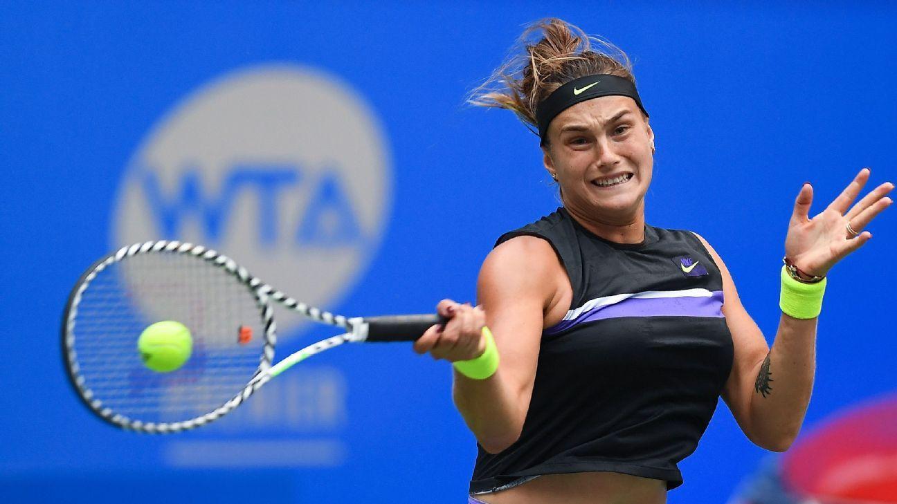 Aryna Sabalenka defeats Alison Riske in Wuhan Open final
