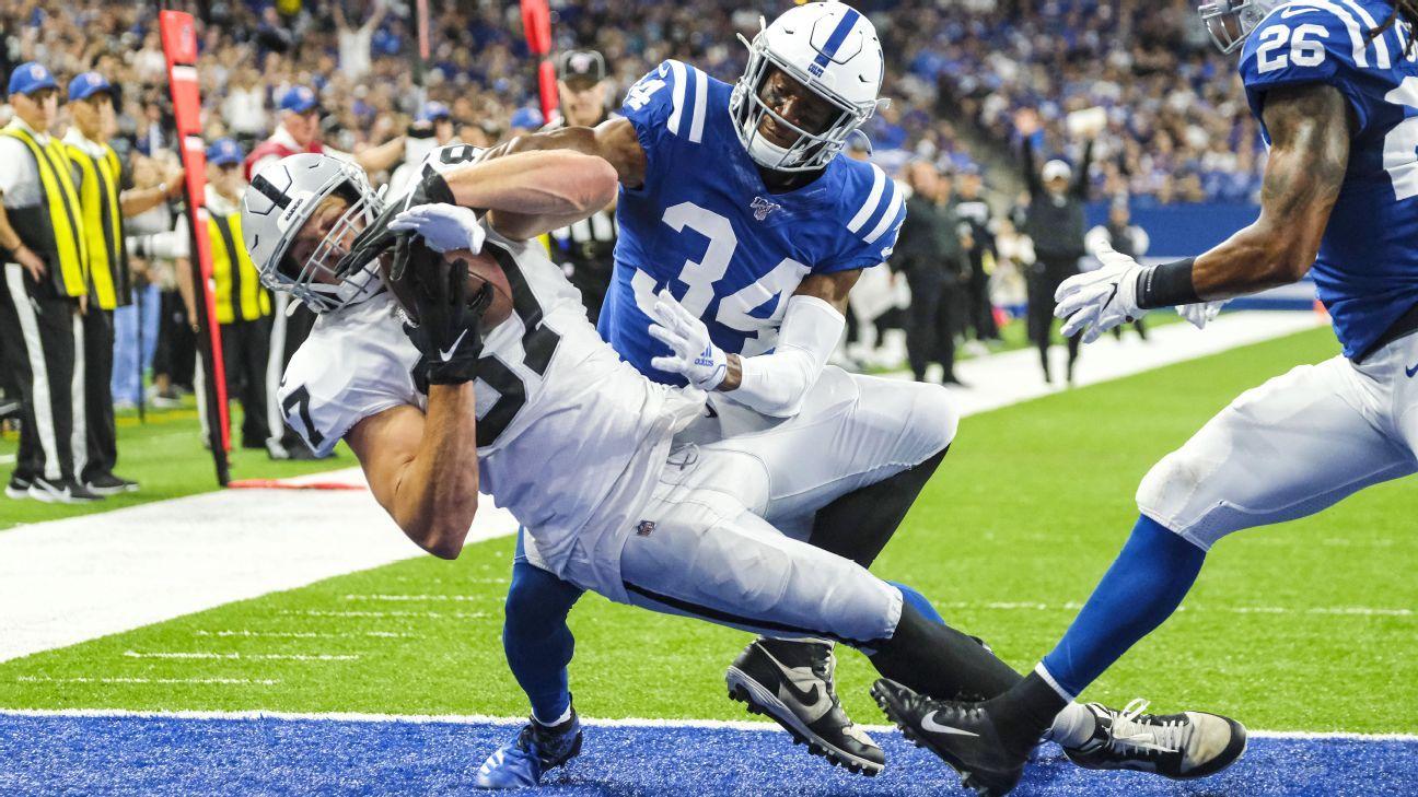 Colts defense had no Darius Leonard and no answers for Raiders in loss