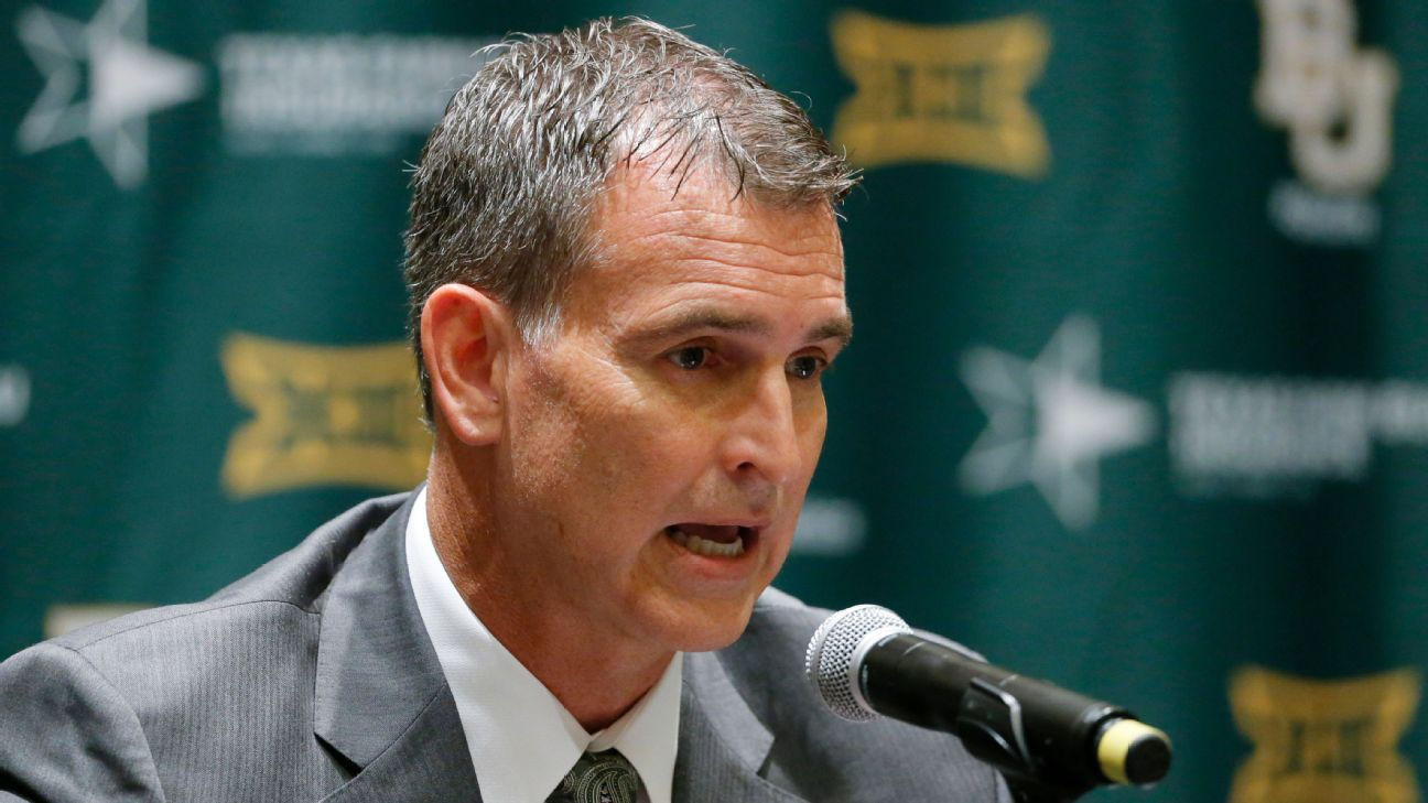 Baylor AD Mack Rhoades gets new 10-year contract