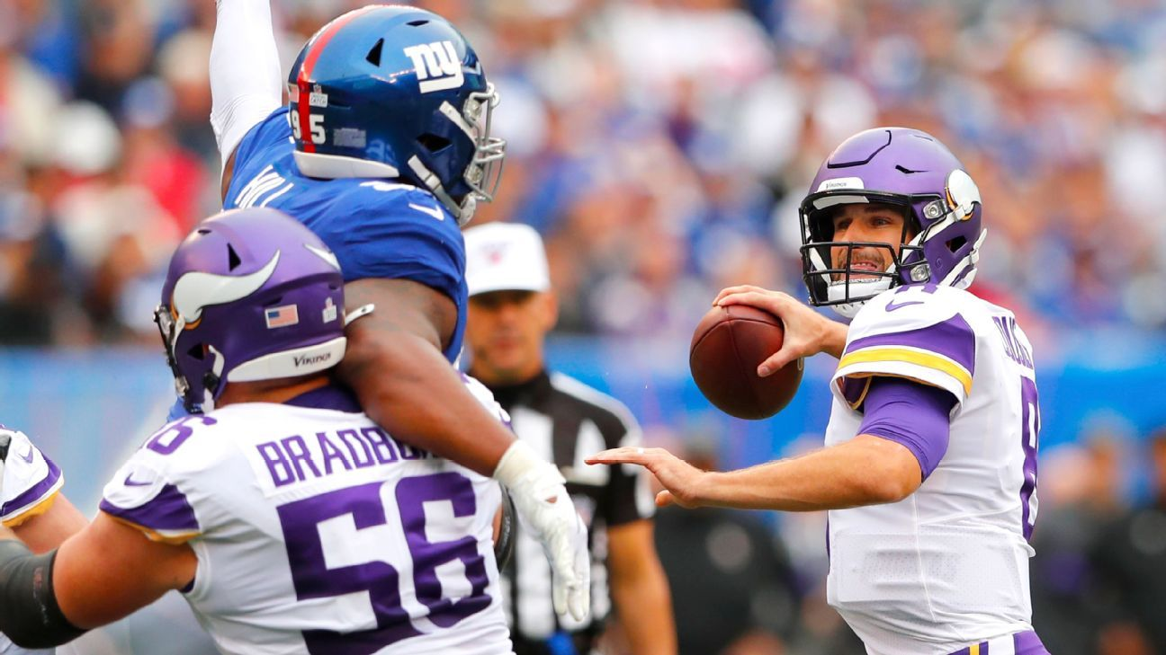 Vikings' offense finds its way back after big day from Cousins, Thielen