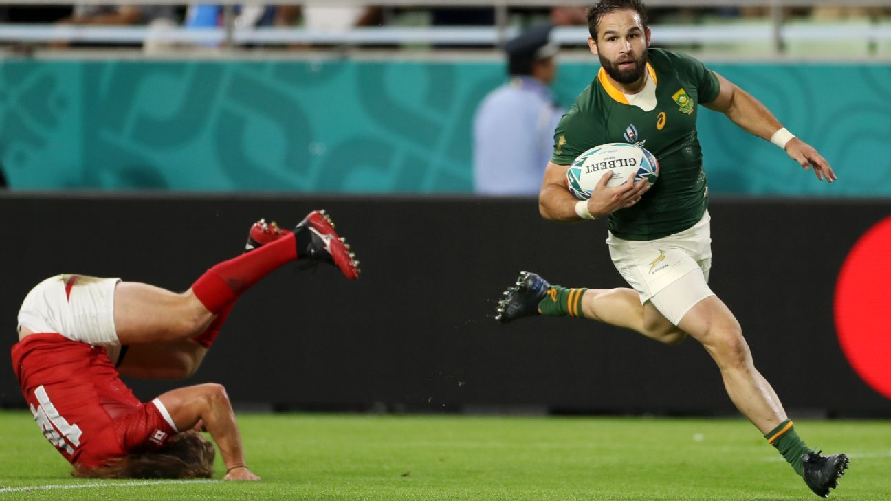Rugby World Cup: Has Reinach shoved his way onto Bok team sheet?