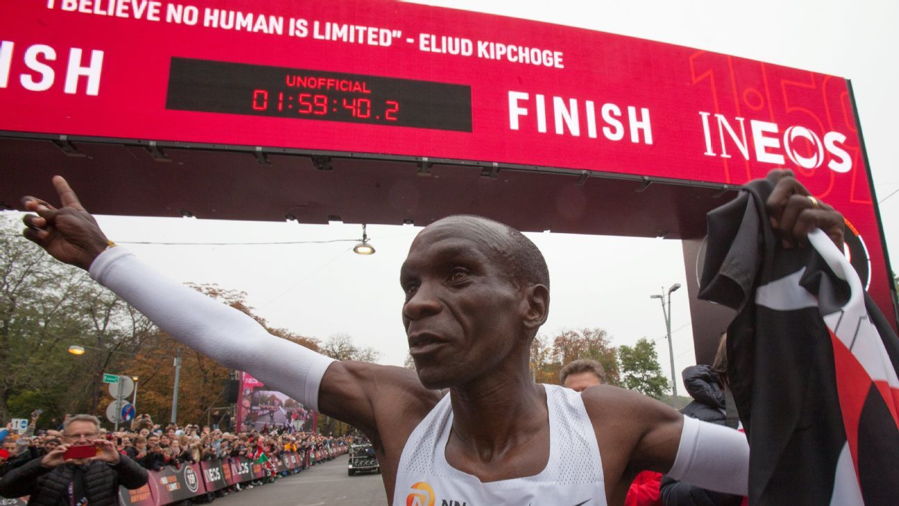 Concerns over shoe technology grow after recent feats by Eliud Kipchoge and Brigid Kosgei