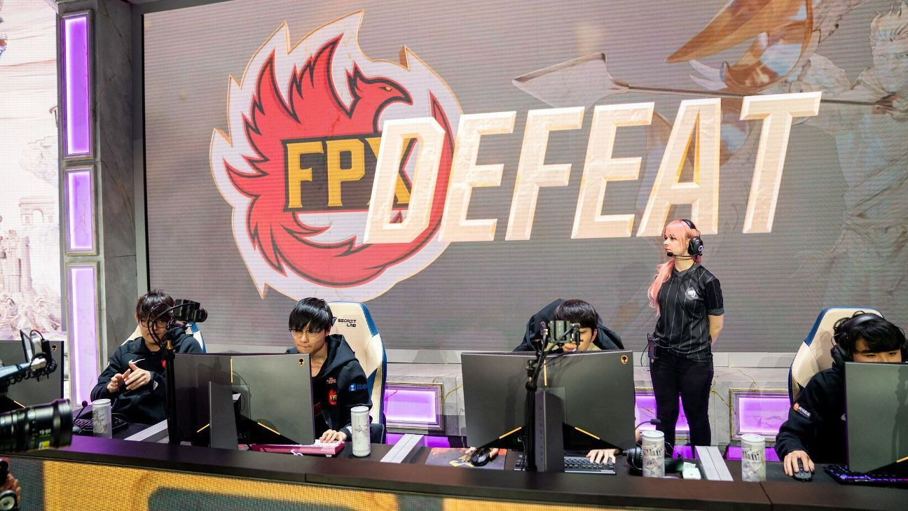 FunPlus Phoenix show their flaws at League of Legends World Championship