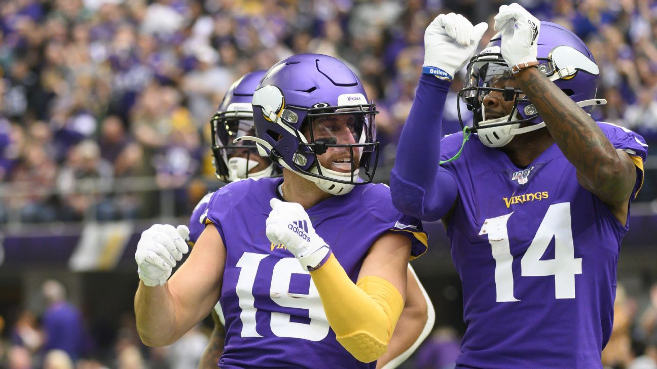 Vikings' offense will go as high as Stefon Diggs and Adam Thielen push it