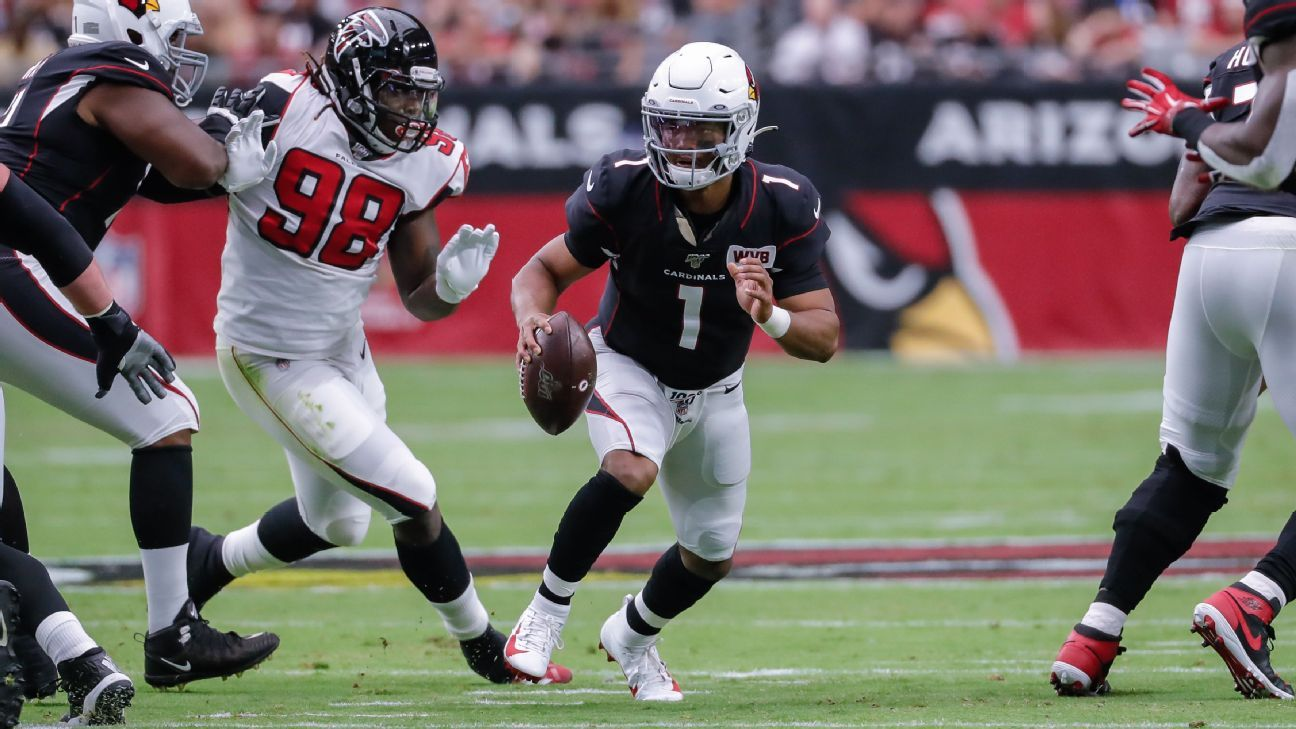 Kyler Murray throws for 340 yards, then seals Cardinals' win with run