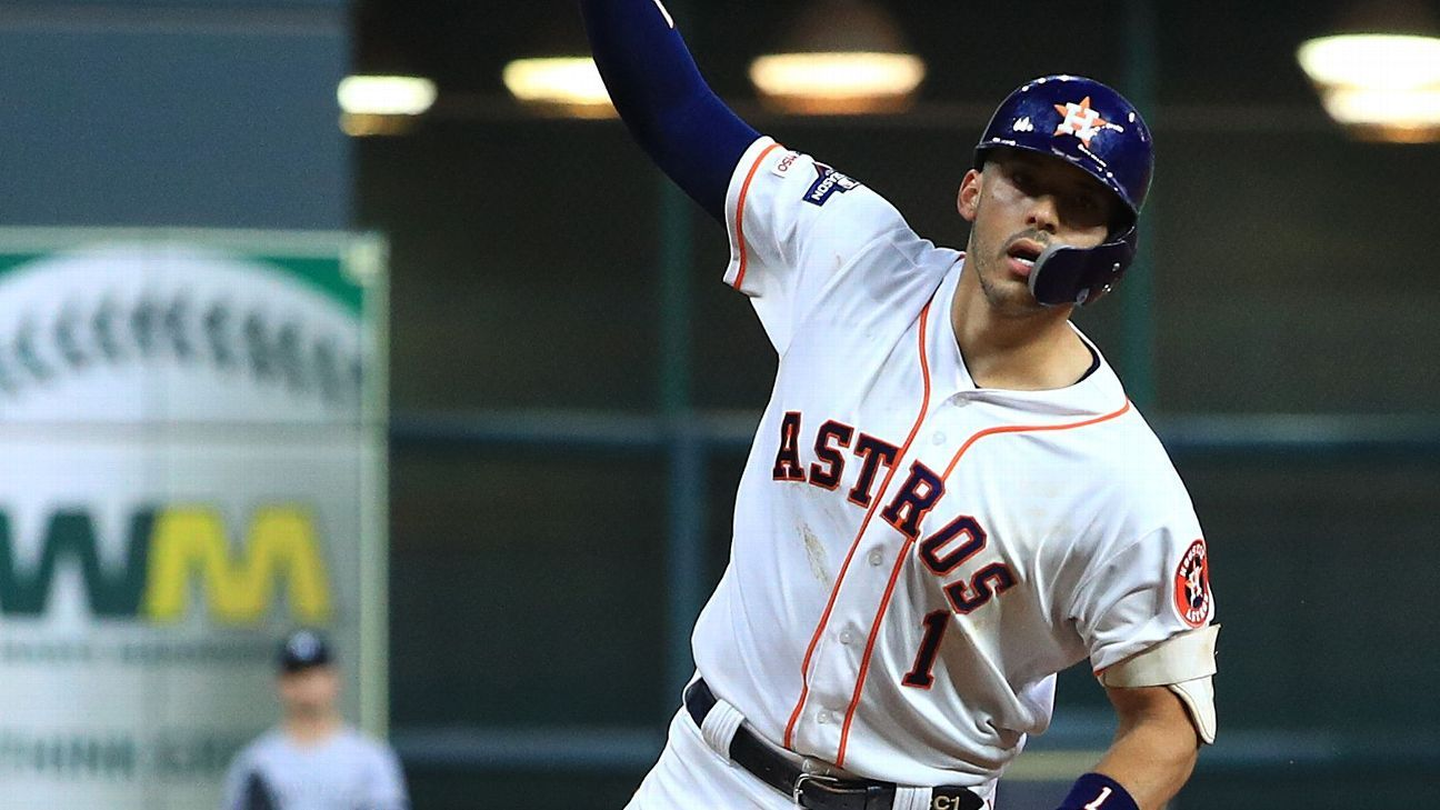 Astros' Carlos Correa, struggling recently, comes up big with walk-off HR vs. Yankees