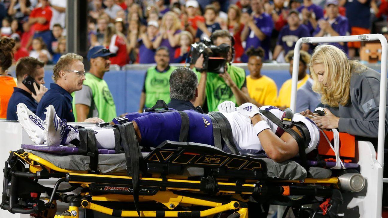 Washington Huskies' MJ Tafisi suffered stinger in win over Arizona Wildcats