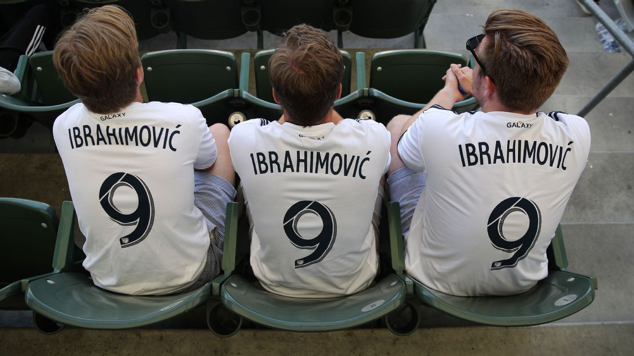 LA Galaxy's Zlatan Ibrahimovic tops MLS jersey sales for second year in a row