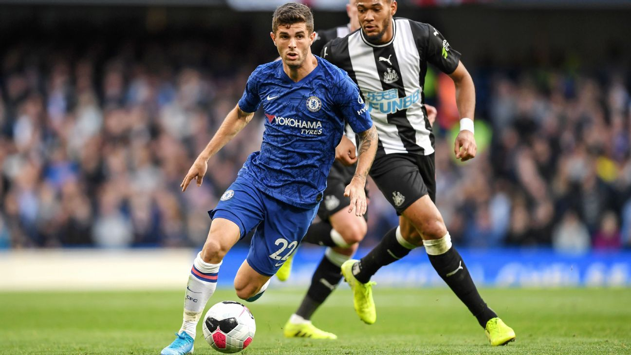 Chelsea's Christian Pulisic confident 'scoring touch' will return