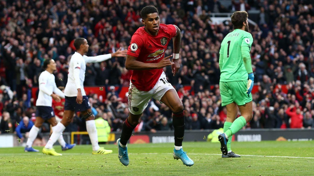 Rashford, James, Pereira earn 8/10 as Man United draw with Liverpool