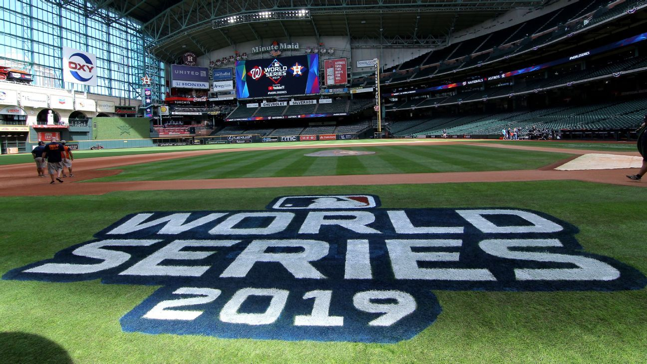 World Series Live: Latest Astros, Nats updates from Media Day in Houston