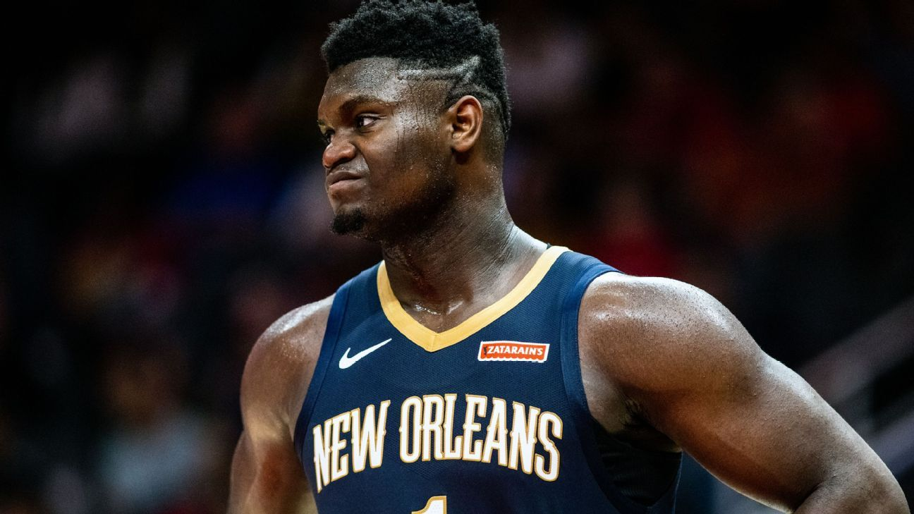 No back-to-backs for Zion upon return, Pels say