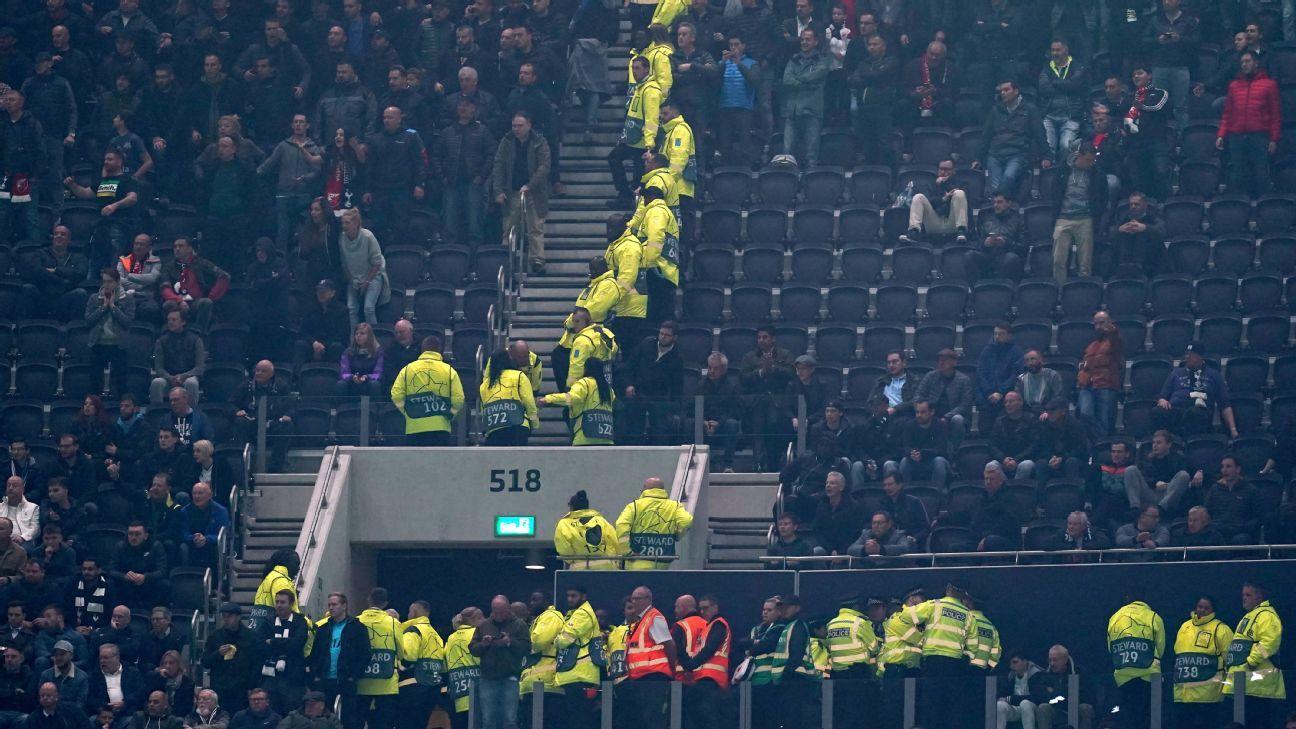 Spurs seek action after Red Star fans defy UEFA ban, attend match