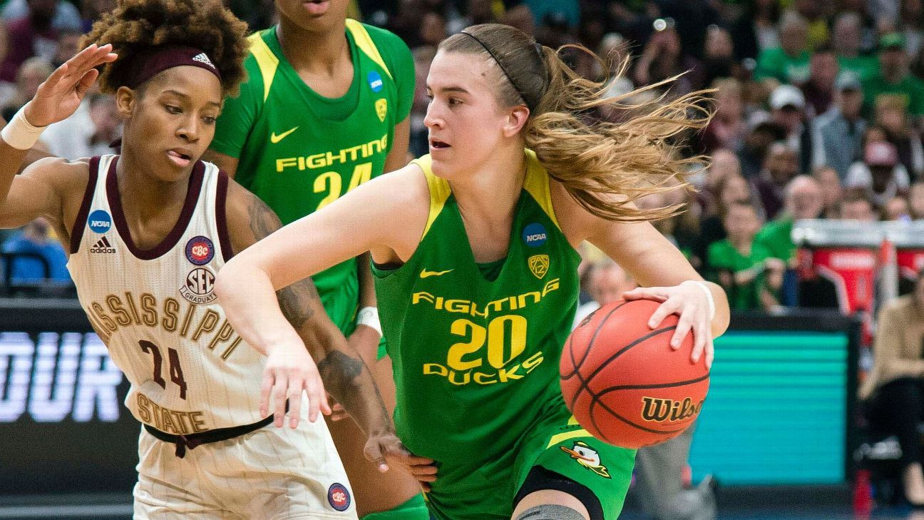 The top 25 players in women's college basketball