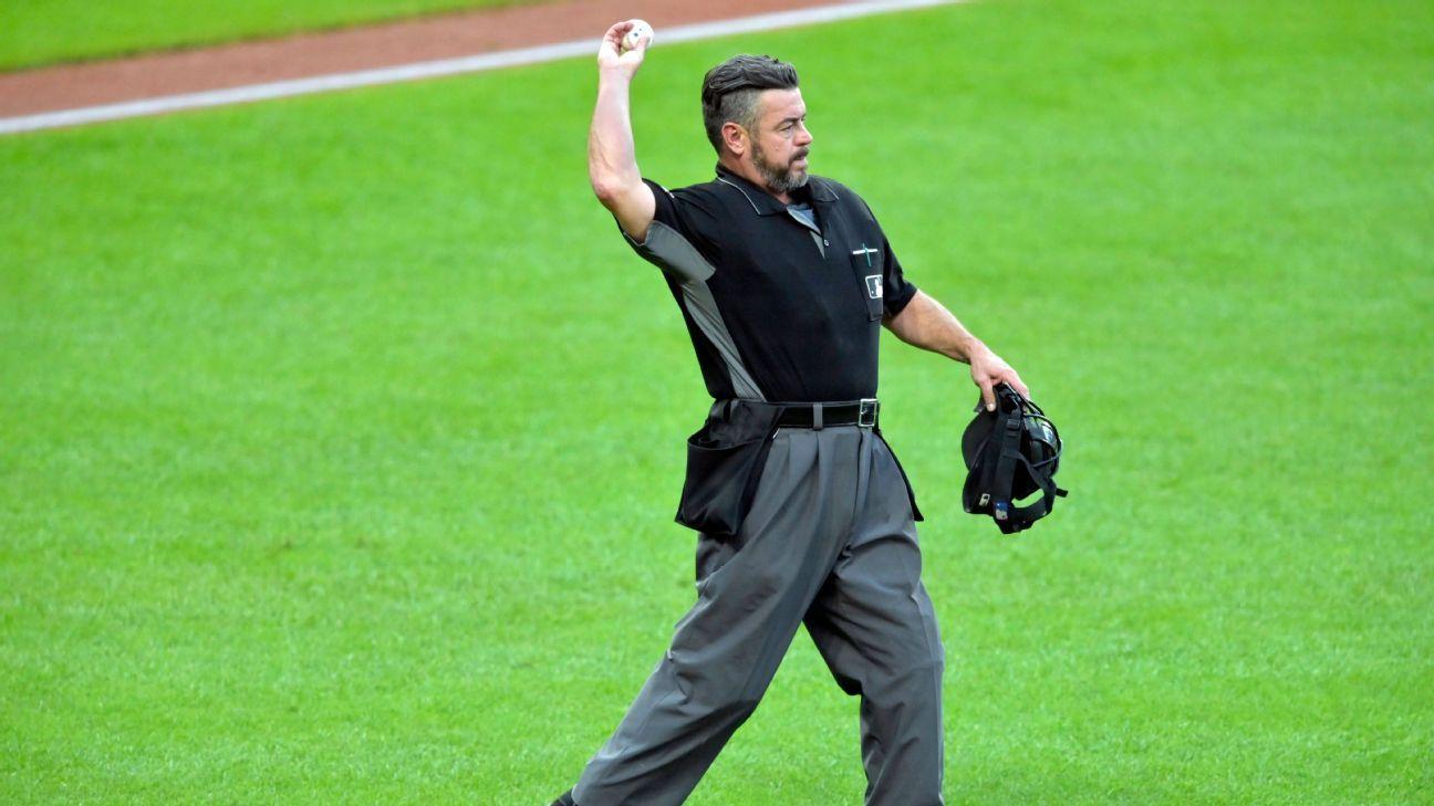 MLB looking into longtime umpire Rob Drake's tweet