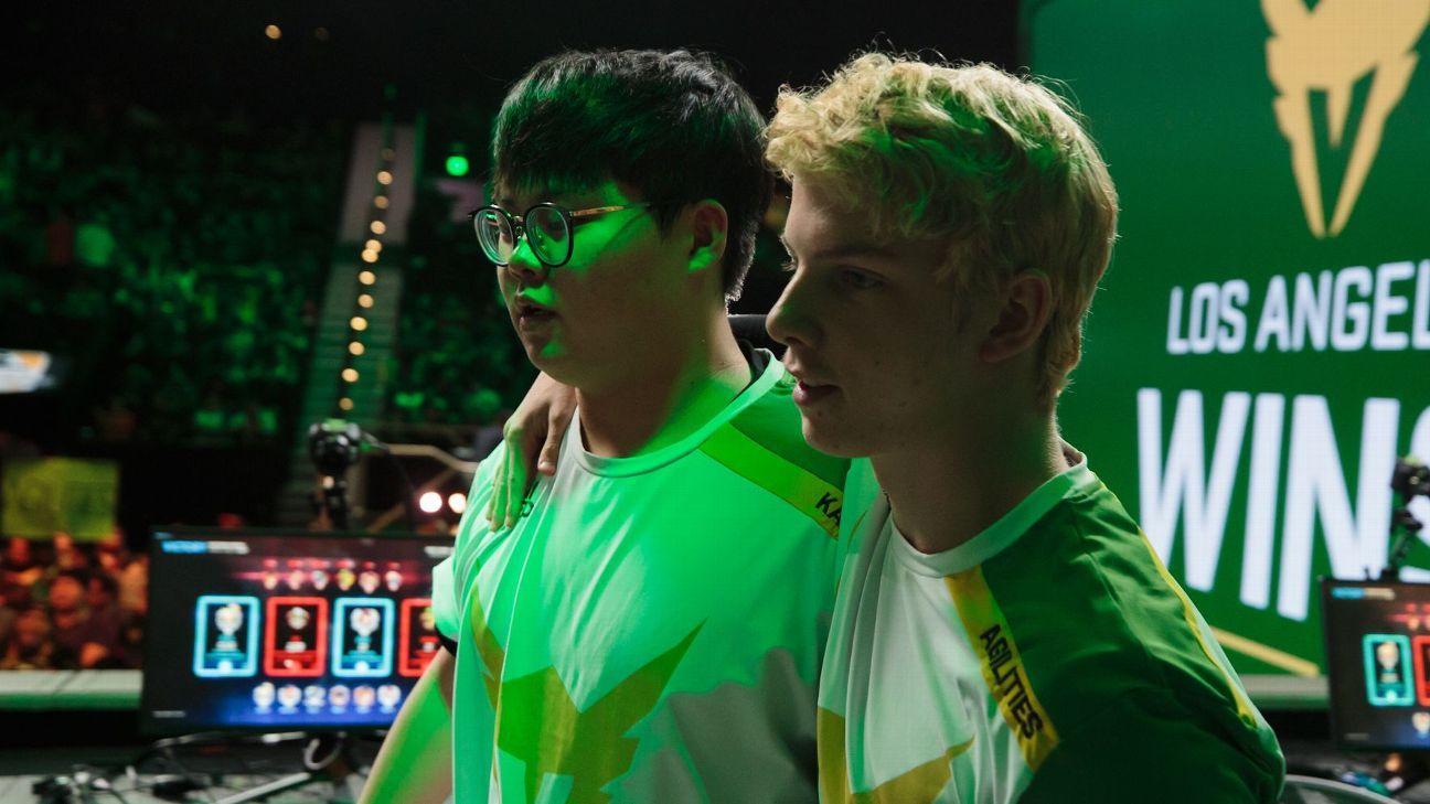 Overwatch League moves: Valiant shake up team, Fusion extend Carpe