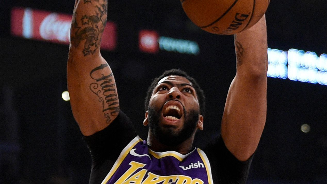 Lakers' Davis expects to play after missing game