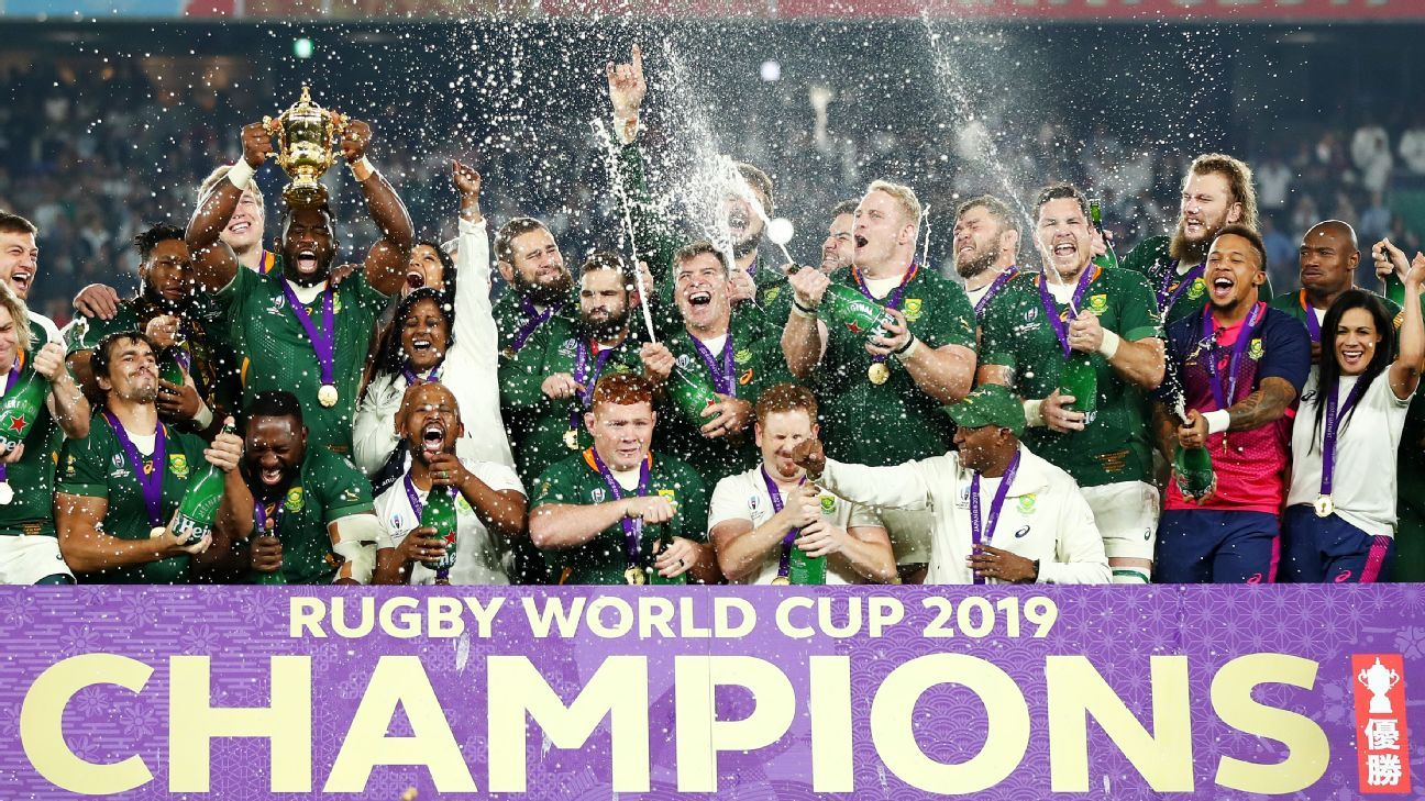 Rugby World Cup final: Springboks - 'Representing entire Rainbow Nation inspired us'