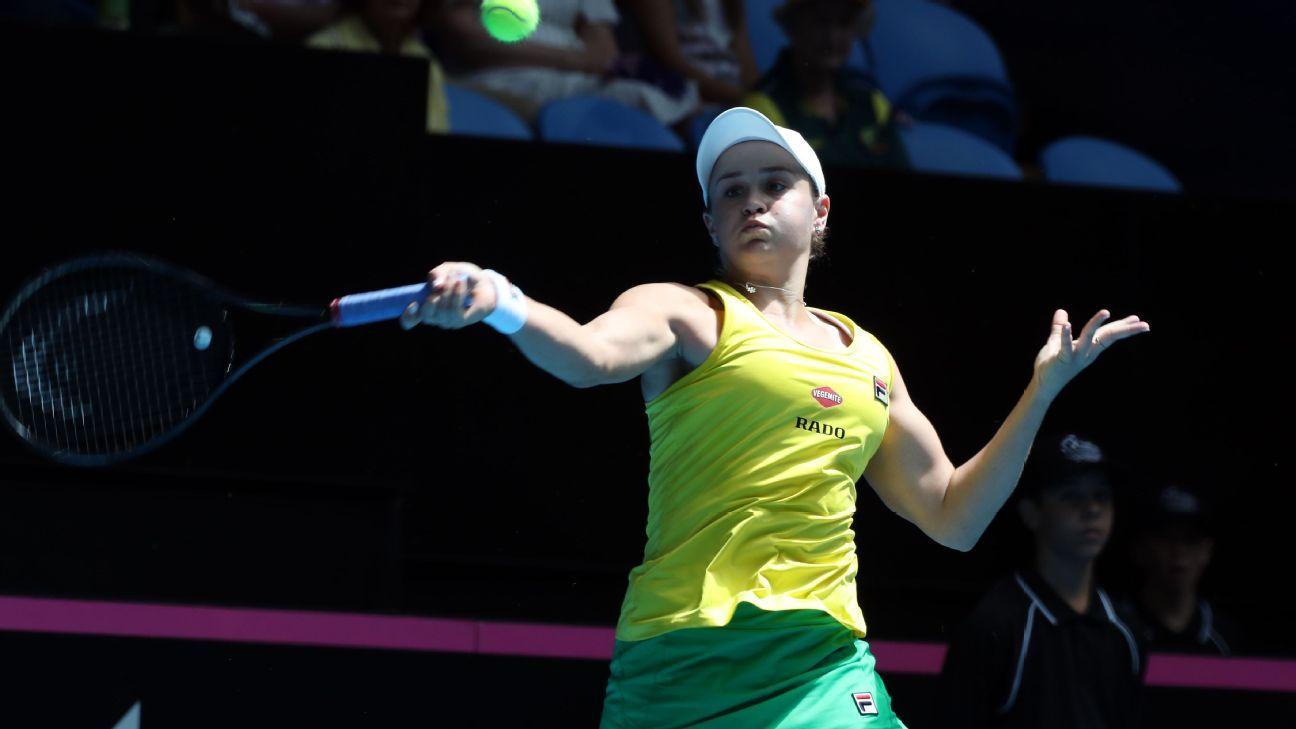 Ash Barty continues Australian women's tennis resurrection