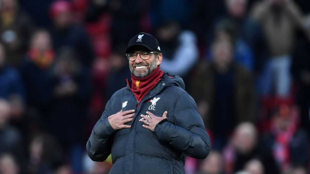 Liverpool aren't champs yet despite beating Man City, though they are in control