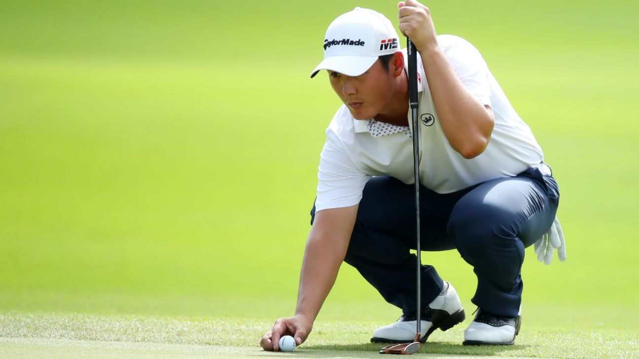 Danny Lee settles for 62 to lead Mexico's Mayakoba Classic