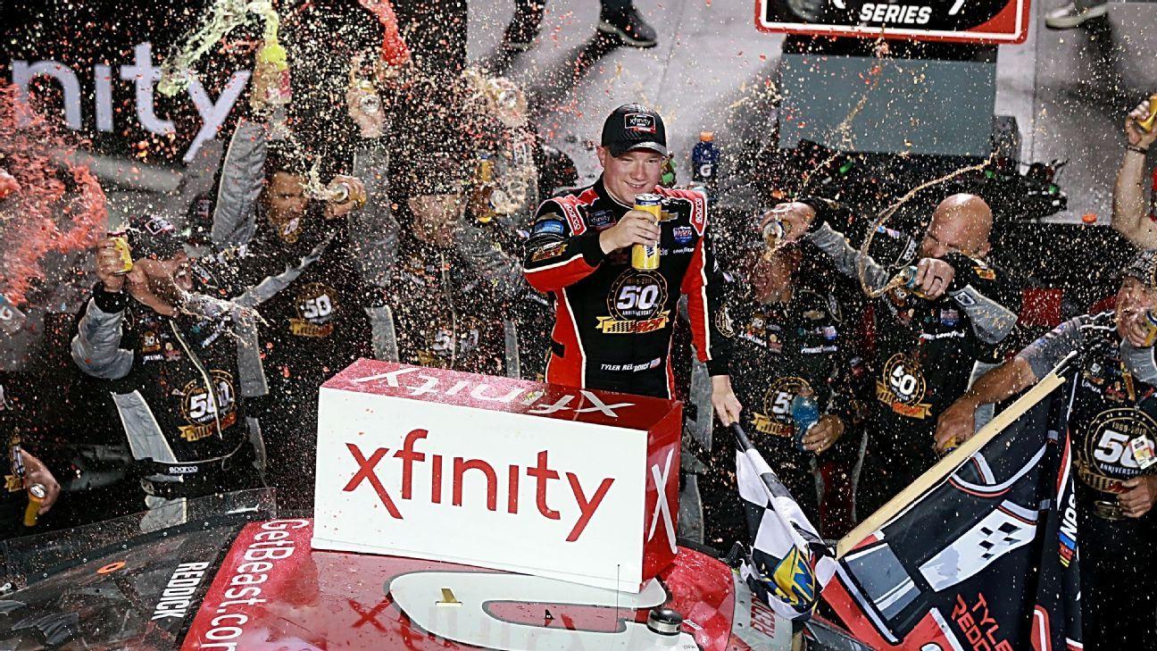 NASCAR StatWatch: Kyle Busch's win, championship caps tremendous season for Joe Gibbs Racing